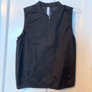 Size 6 Black Lululemon Athletica Windbreaker Vest